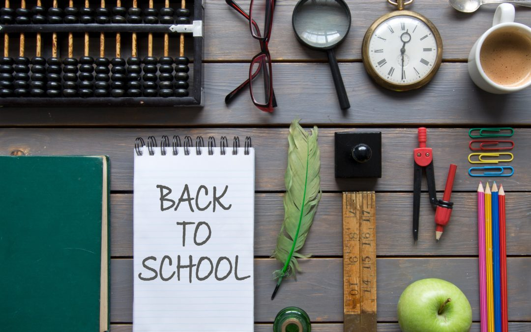 Ten tips for getting 'back to school' ready!